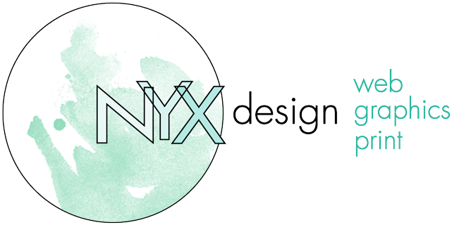 Logo Nyx Design Web Graphics Print