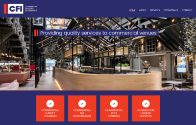Commercial Facilities Integrated Website Design