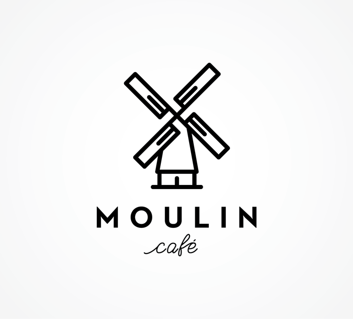 Moulin Cafe Logo