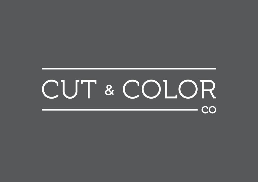 Cut & Color Co Logo Design
