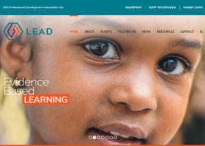 Lead Professional Development Association Inc Website Design