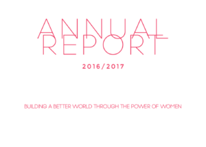 YWCA NSW Annual Report Design