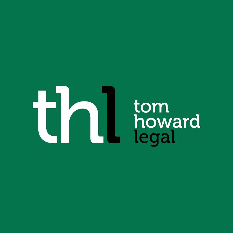 Tom Howard Legal Logo Design Business Cards